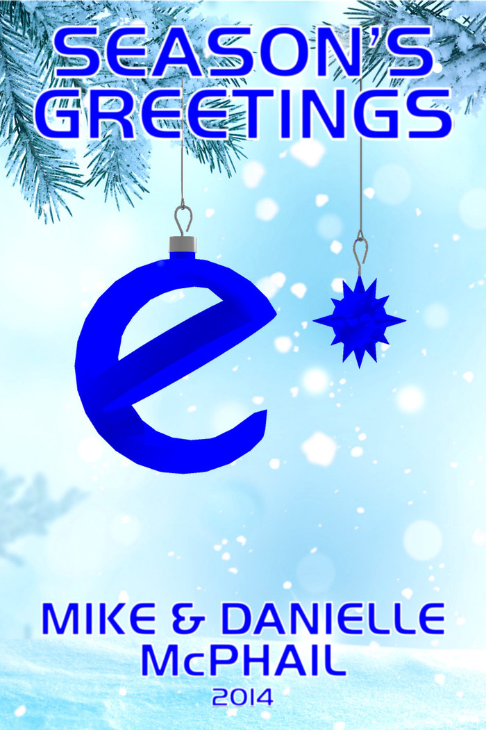 eSpec Books wishes everyone a very Merry Christmas and Happy Holidays!