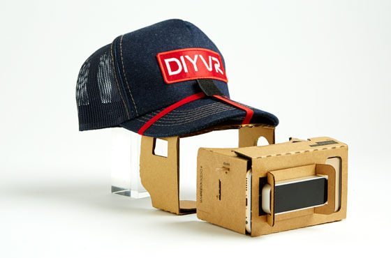 DIYVR takes a keep-it-cheap approach to virtual reality.