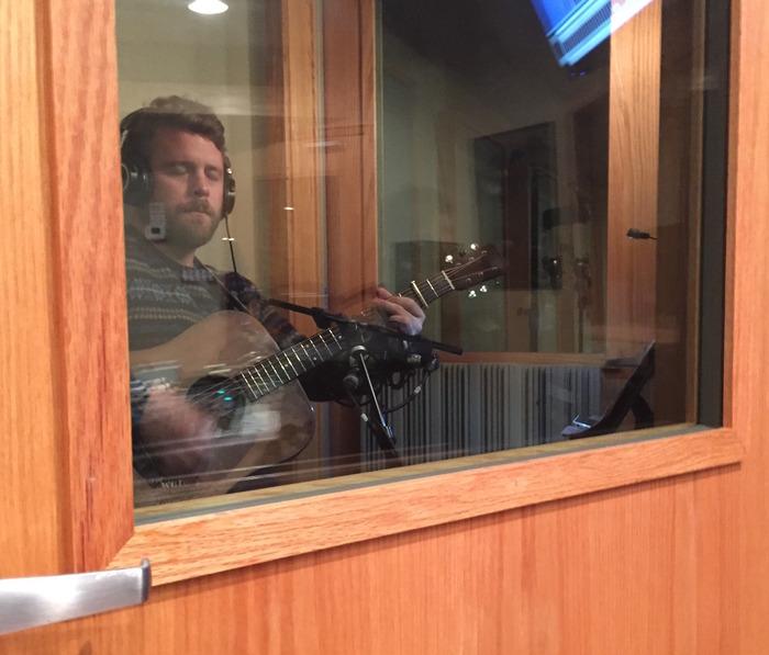 (Jon's Zen moment recording with his 1956 Martin)