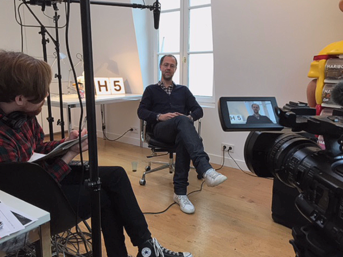 Our interview in Paris with Ludovic Houplain, one of the French graphic artists behind the film, LOGORAMA.