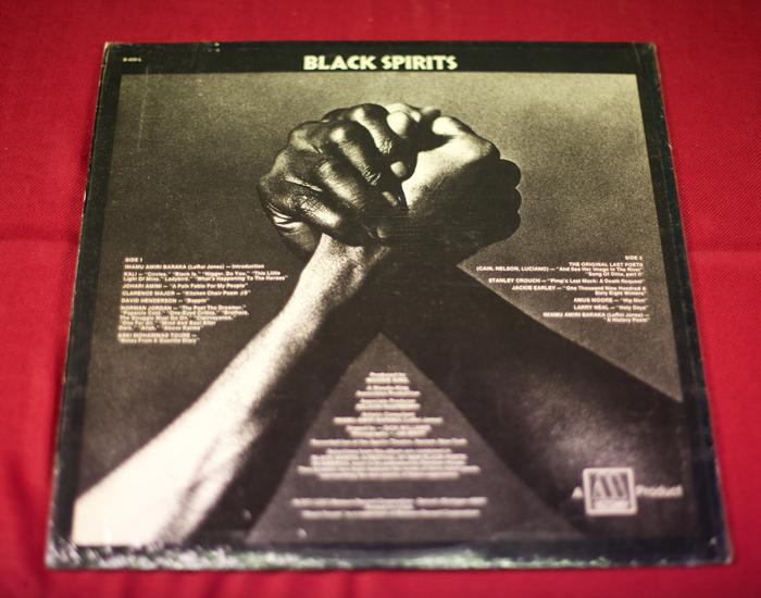 Black Spirits – Baraka and 15 poets - Album