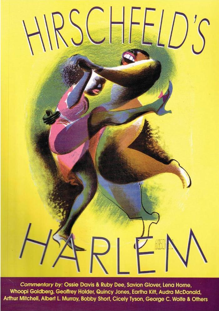 Hirschfeld's Harlem -  a book of lithographs by Al Hirschfield