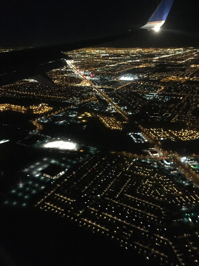 Arial view of Las Vegas, Nevada, USA