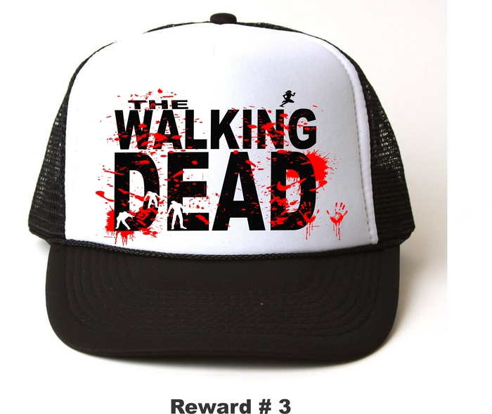 WALKING DEAD SNAP BACK CAP