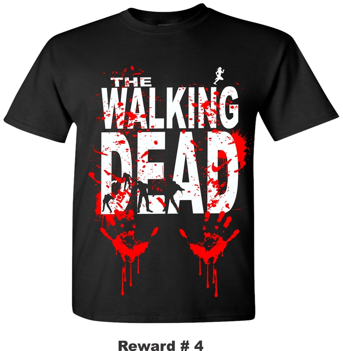 WALKING DEAD T_SHIRT
