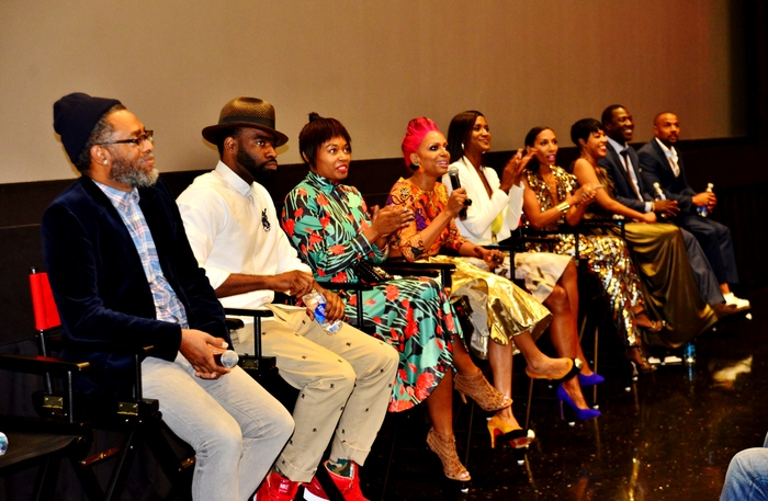 Our last post-screening Q&A at UrbanWorld Film Festival, more to come!