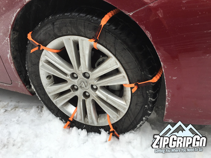 zipgripgo emergency traction aid for snow ice or mud by zip grip go llc kickstarter. Black Bedroom Furniture Sets. Home Design Ideas