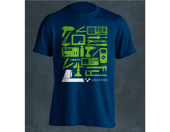 Note:  Colors in the image may not exactly match the shirt.  Sizing information will be collected after the campaign.