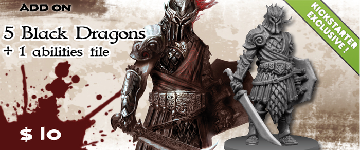 The Personal guard of King Conan, these fearsome warriors can be led by any hero with the command skill!