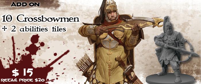 Puissant Séides d'attaques à distance, les Arbalétriers apporteront de la variété dans vos parties et viennent avec leur propre mission et des conseils pour les insérer dans d'autres.
