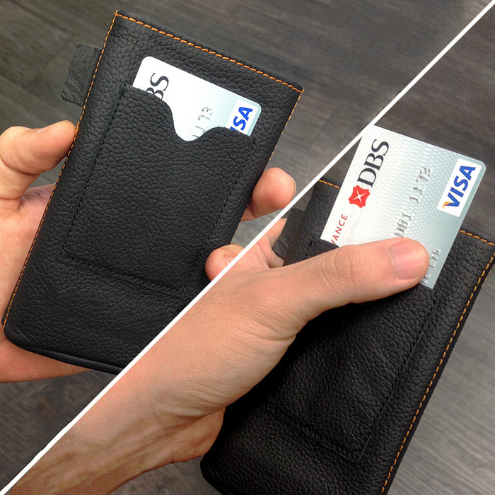Free upgrade #1: Back pocket for card access!