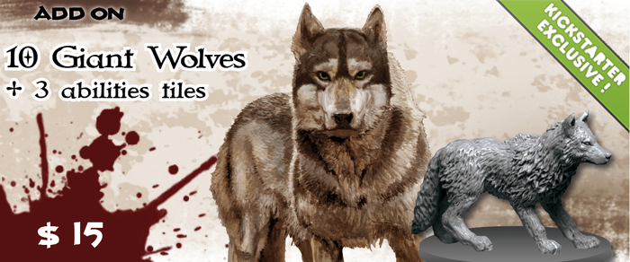 A ferocious pack of giant wolves that the Overlord can use to take down the more tencious prey, including heroes!