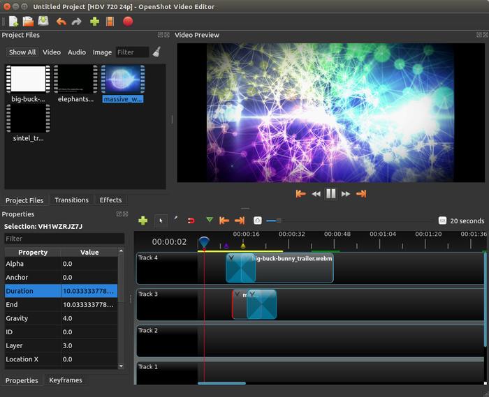 OpenShot 2.0 Screenshot