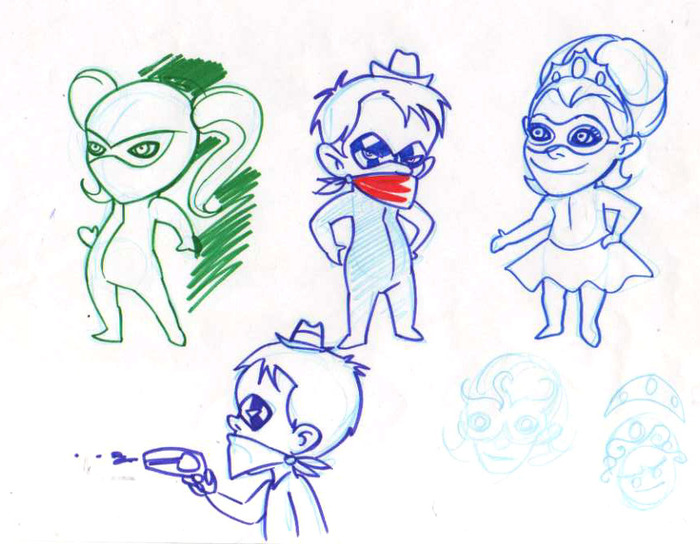 Character Design Quarterly Issue 3 : Lil ninja debut issue comic book by greg woronchak