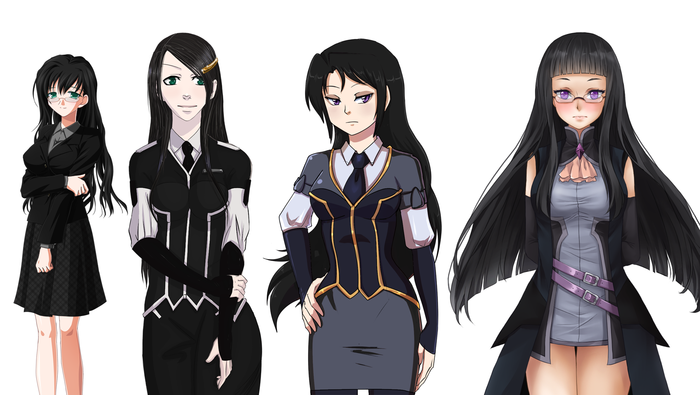 And this isn't even all the Syl sprites over the years.