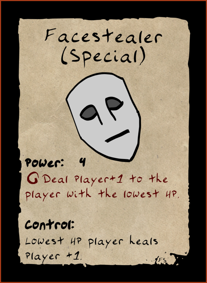 Final Facestealer card.