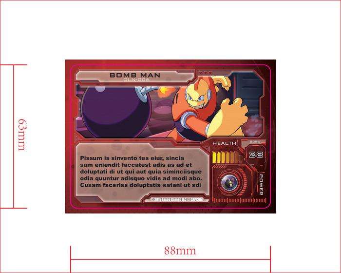Antagonist Card Bomb Man Front
