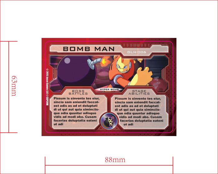 Antagonist card back - Bomb Man