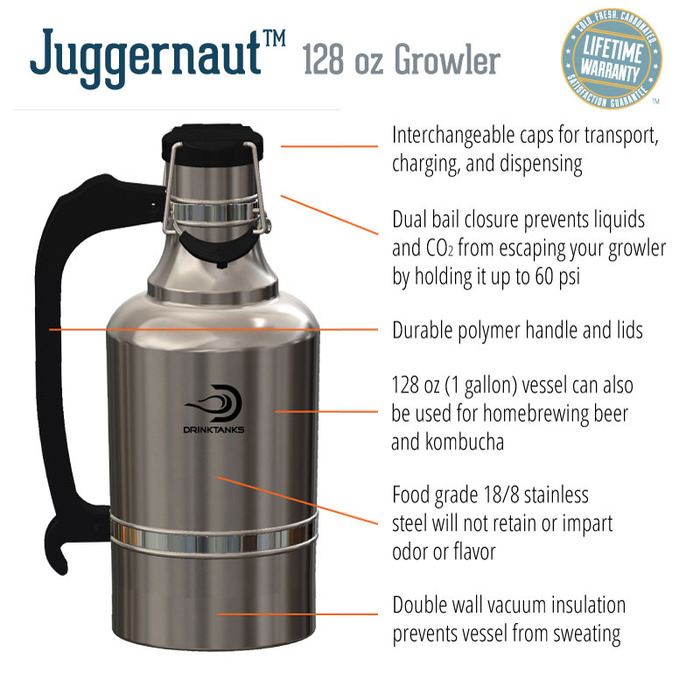 Drinktanks Offers The World S Largest Growler Amp Personal