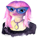 Self_portrait_drawn_painted_pink_hair_2013_square.medium