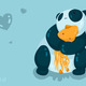 Pandalove wallpaper by pandasquid.small