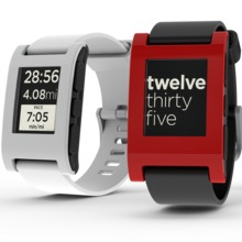 Pebble as seen on Kickstarter