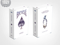 AVES: Bicycle playing cards; Fine Art deck inspired by Birds