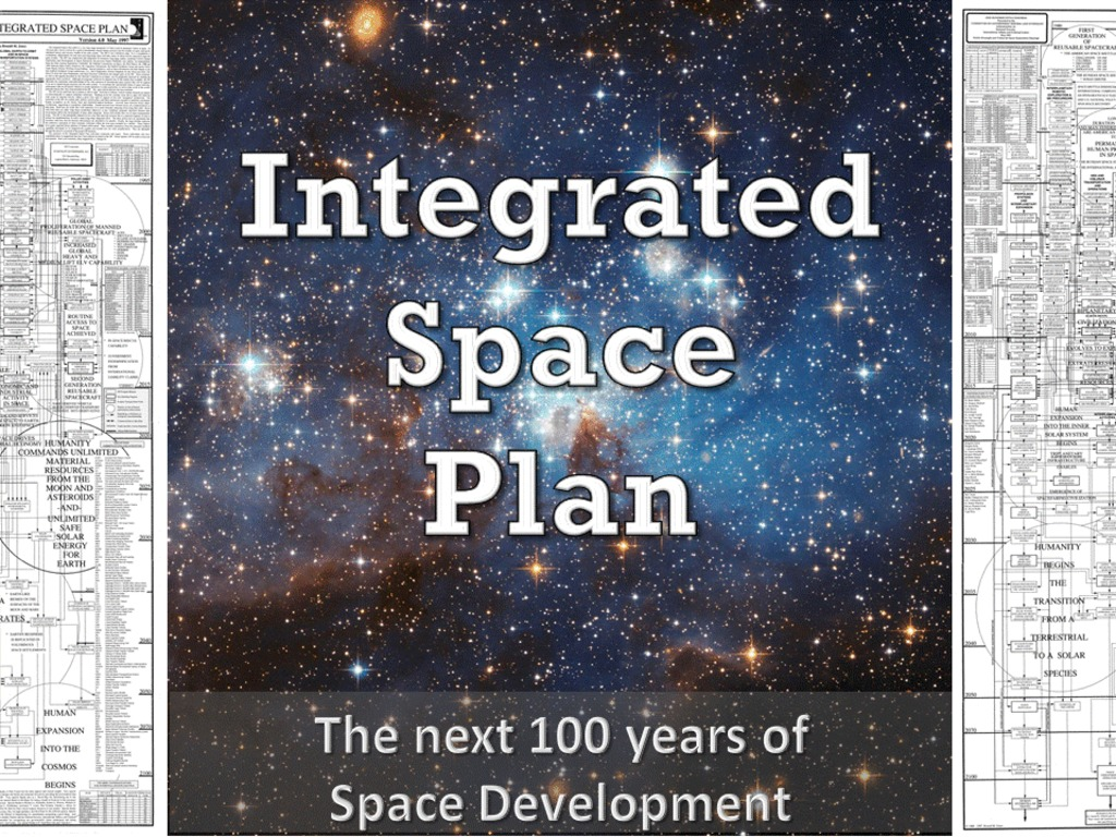 Integrated Space Plan - Envisioning Humanity's Future's video poster