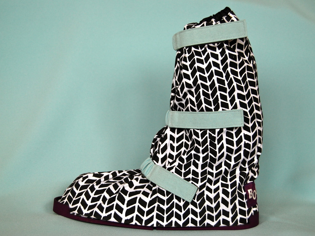 BOOJEES overshoes for cycling in heels's video poster