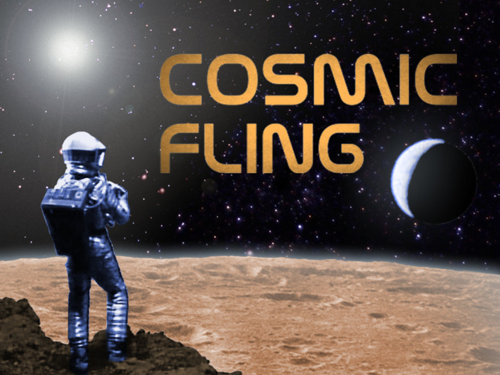 Cosmic Fling's video poster