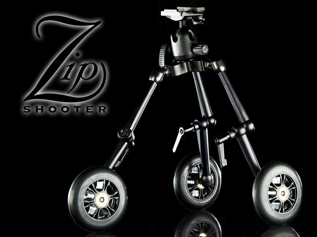 ZipShooter™ | Portable Camera Dolly/Slider System for DSLR's video poster