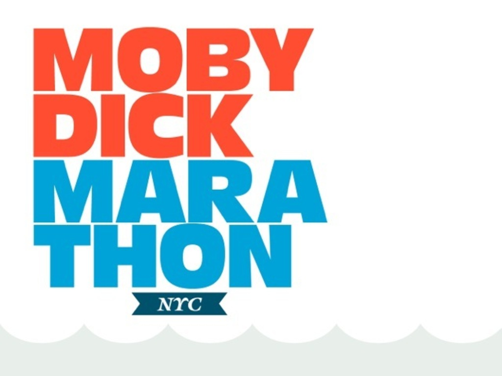 Moby-Dick Marathon NYC's video poster