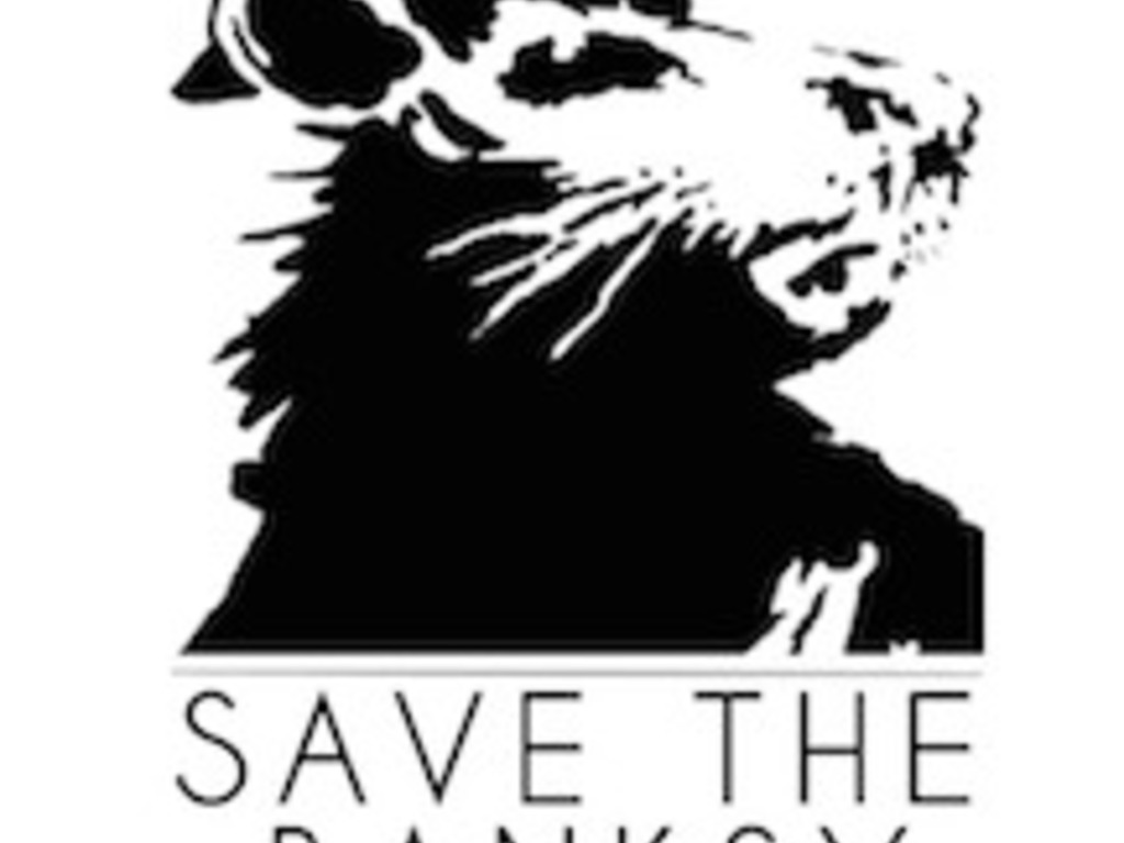 Save the Banksy's video poster