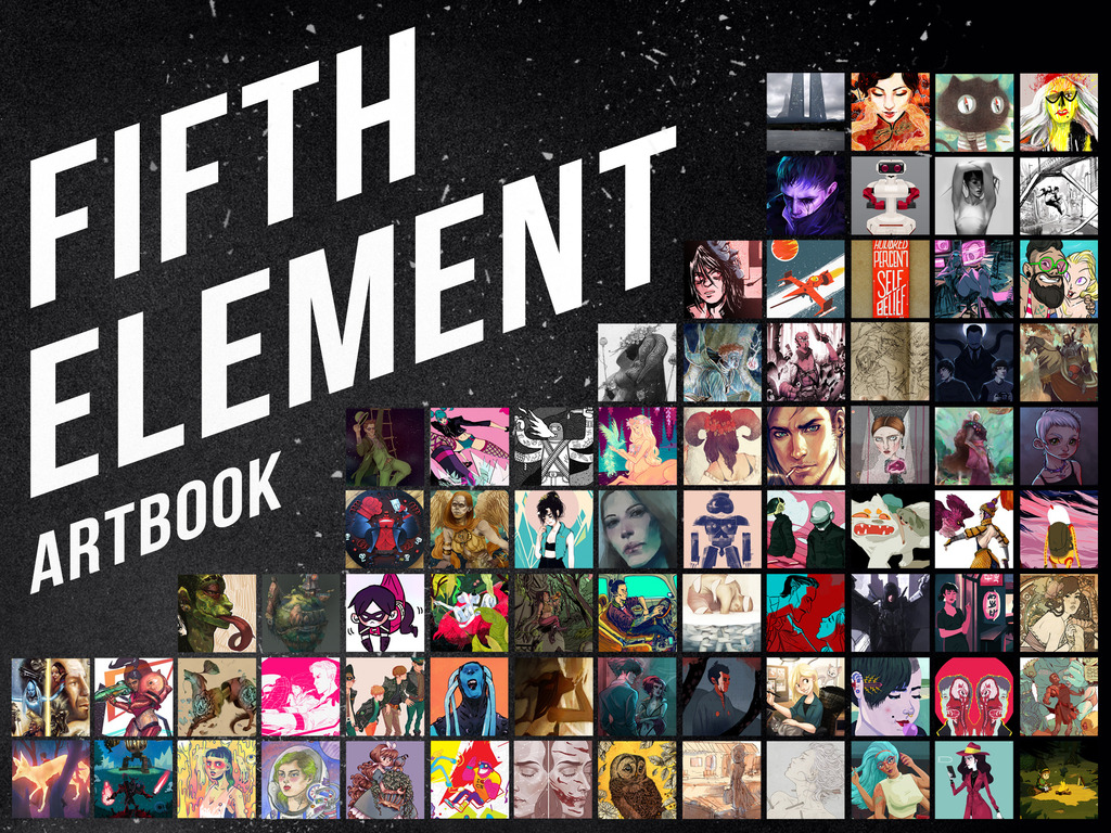 Fifth Element - A Fifth Element Artbook's video poster