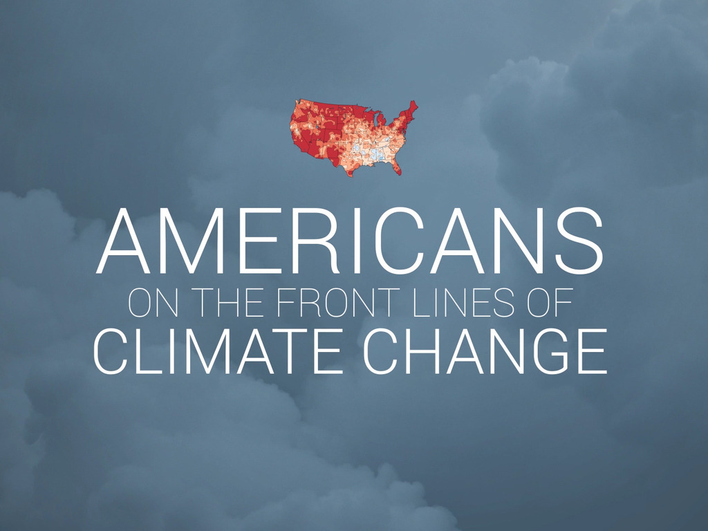 Americans on the Front Lines of Climate Change's video poster