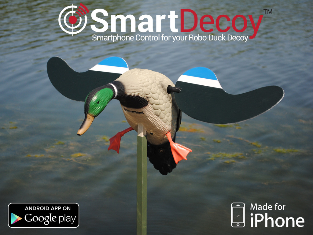SmartDecoy™ - Add Smartphone Control to your Robo Duck Decoy's video poster