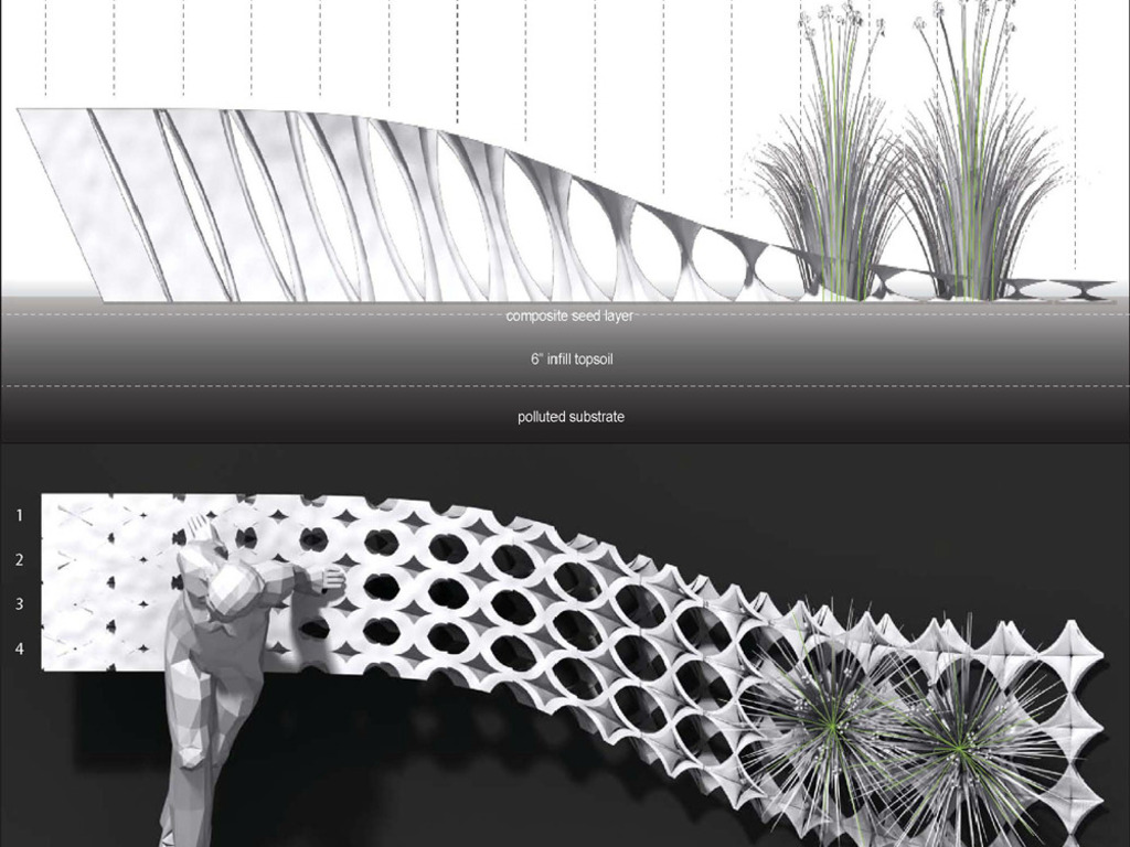 Phytobench: Plant-growing Furniture for Environmental Remediation's video poster