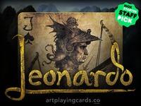 Leonardo   Art Playing Cards