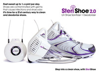 SteriShoe 2.0 sanitizes stinky, fungus-filled shoes with UV
