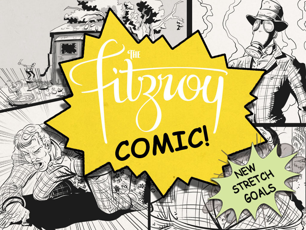 The Fitzroy Comic's video poster