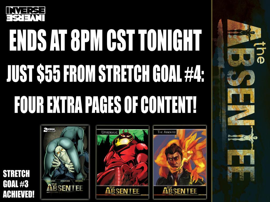 The Absentee - Interdimensional Sci-Fi Demonic Possession!'s video poster