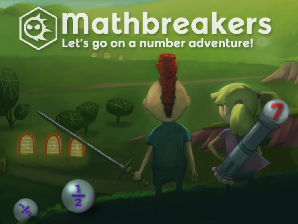Mathbreakers! A 3-D Math Exploration Game's video poster