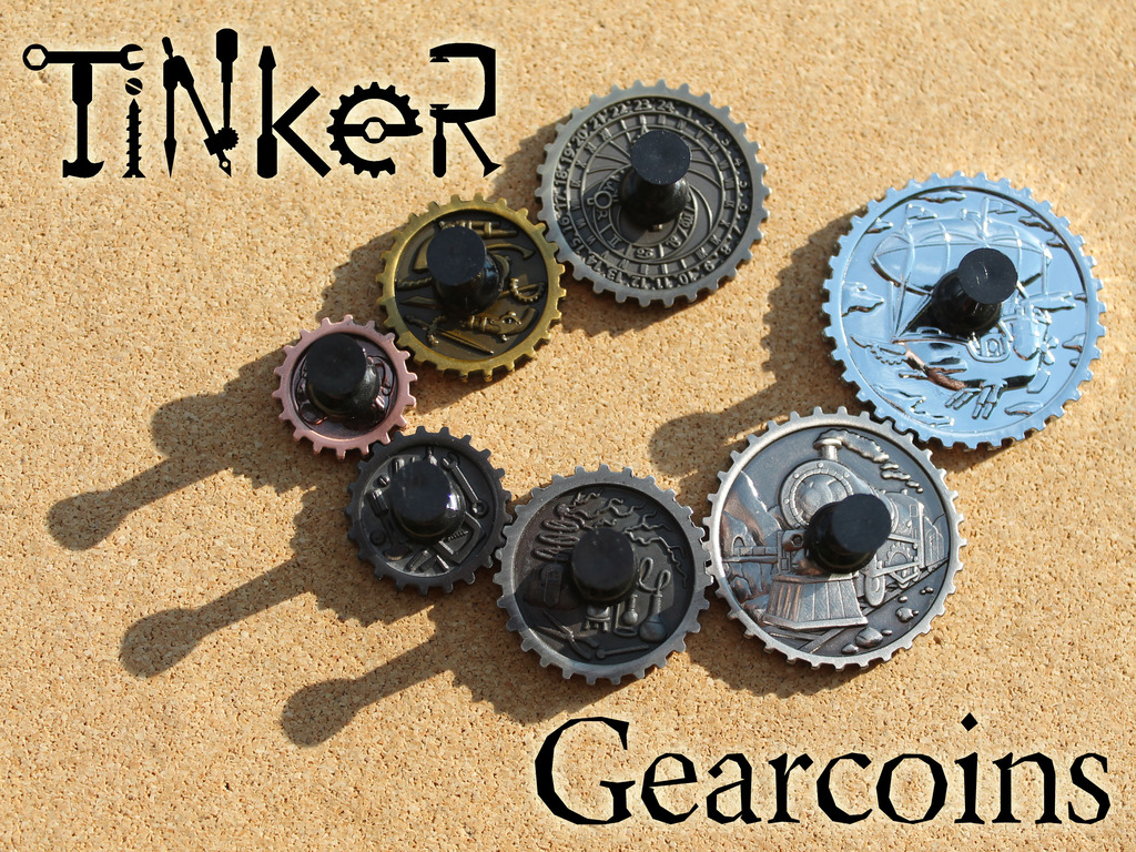 Tinker Gearcoins - Steampunk Game Coins's video poster