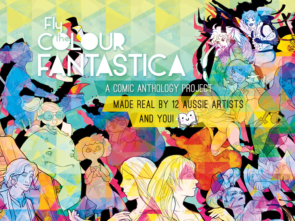 Fly the Colour Fantastica: A Comic Anthology's video poster