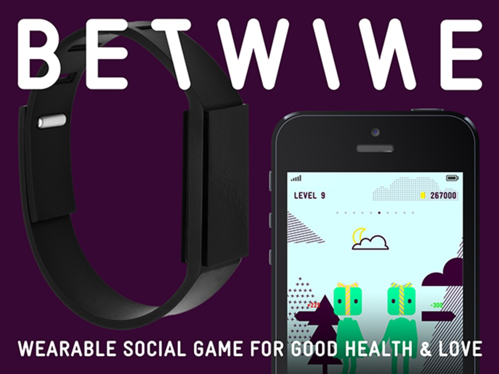 BETWINE: Wearable Social Game for Good Health & Fun's video poster
