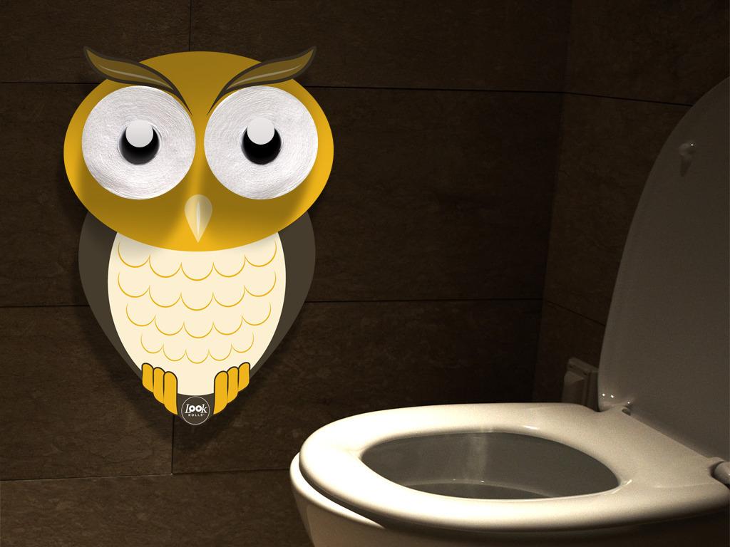 DESIGNED TOILET PAPER HOLDER (OWL, PANDA, HIPPO) (Canceled)'s video poster