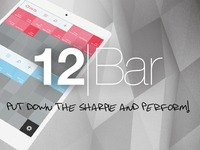 12Bar for iPad: Create and Share Chord Charts and Set Lists