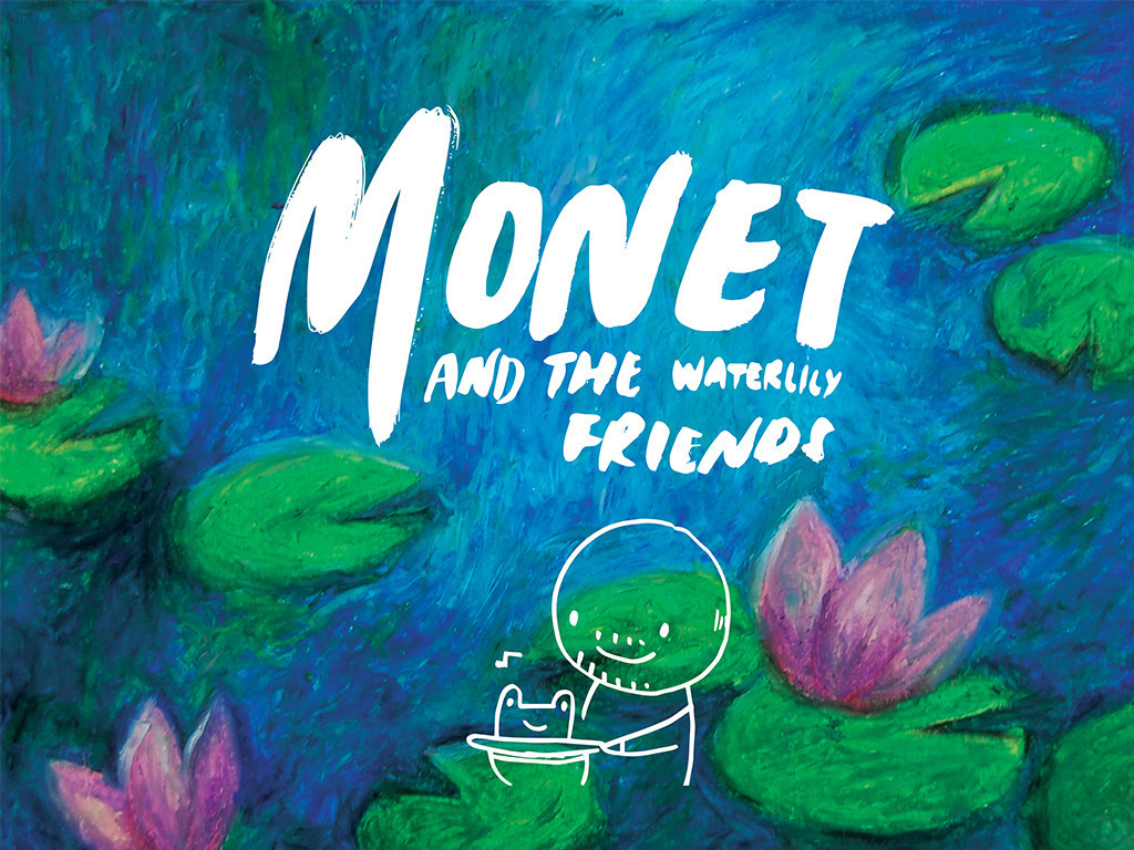 Monet and the Waterlily Friends's video poster