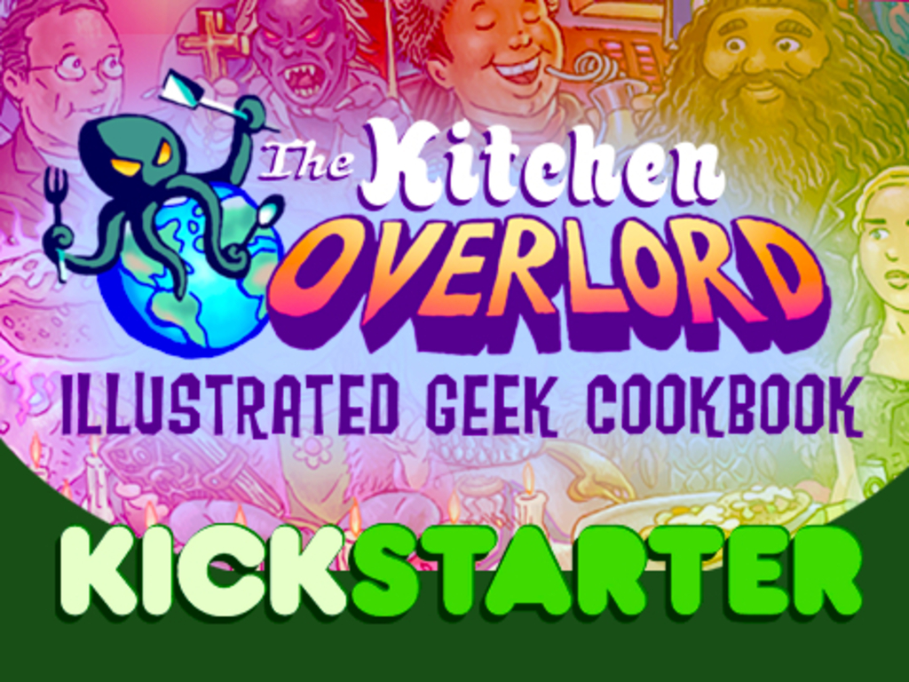 Kitchen Overlord's Illustrated Geek Cookbook's video poster