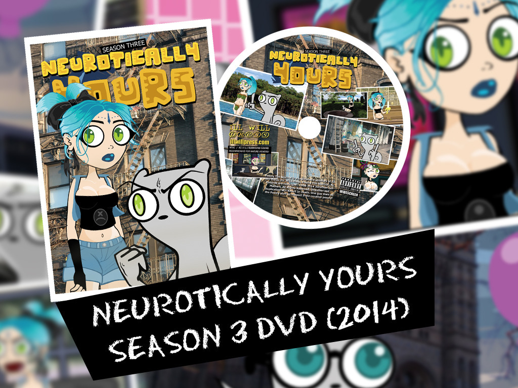 Neurotically Yours Season 3 (2014) DVD (Foamy the Squirrel)'s video poster